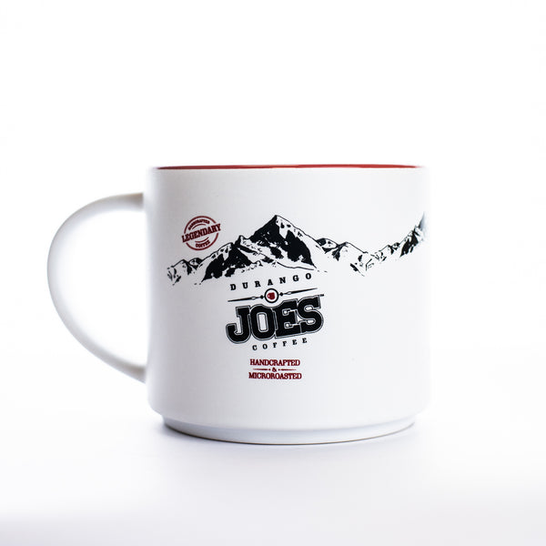 16oz Joes Signature Ceramic Mug | Matte White