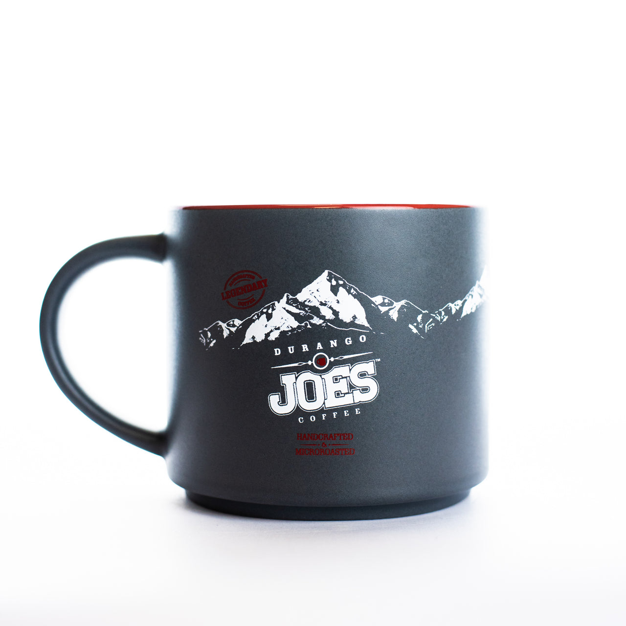 16oz Joes Signature Ceramic Mug | Matte Grey