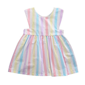 Striped Sleeveless Summer Dress Baby/Toddler