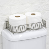 Bathroom Tray | Store Hand Towels, Towelettes, and Toilet Paper | Simple Design Collection