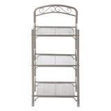 Bathroom Storage Rack, 3-Tier (Satin Nickel)