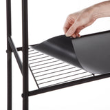 Over the Toilet Bathroom Storage Rack with Basket Shelving, 3-Tier (Oil-Rubbed Bronze)