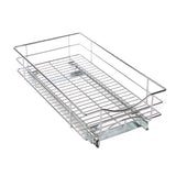 "Kitchen Cabinet Pull-Out Basket Organizer - 11"" W x 21"" D"