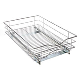 "Kitchen Cabinet Pull-Out Basket Organizer - 14"" W x 21"" D"