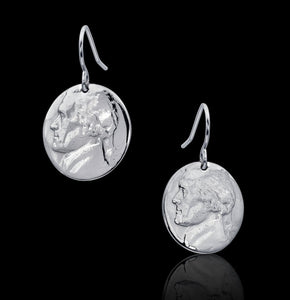 Cropped Nickel Earrings