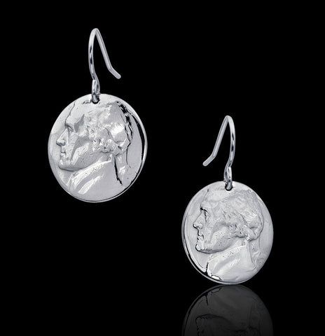Cropped Nickel Earrings - Trittello