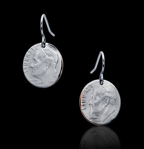 Cropped Dime Earrings
