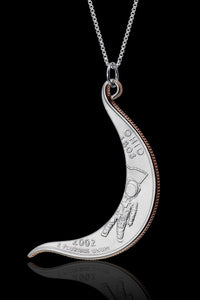 Crescent Quarter Necklace - Trittello