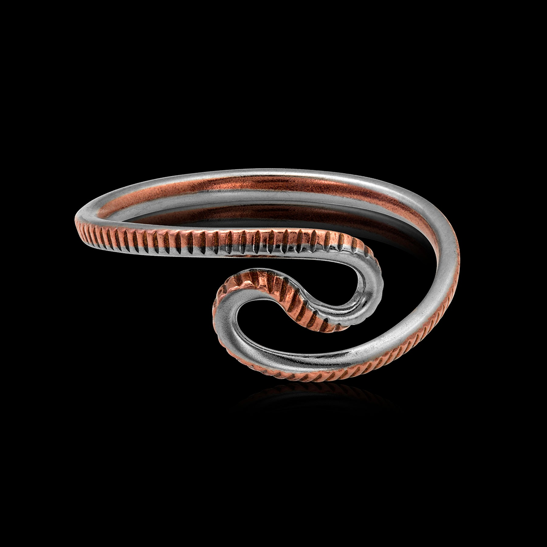 Wave Quarter Ring - Trittello