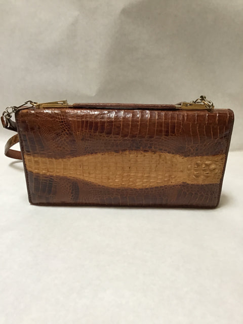 Alligator Croc Genuine Vintage Purse