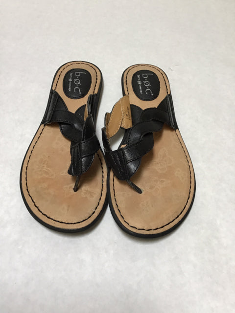 BOC Size 7 Black Sandals Flat