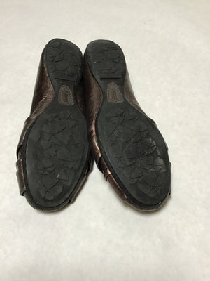 Born Size 7 Brown Slip On Shoes