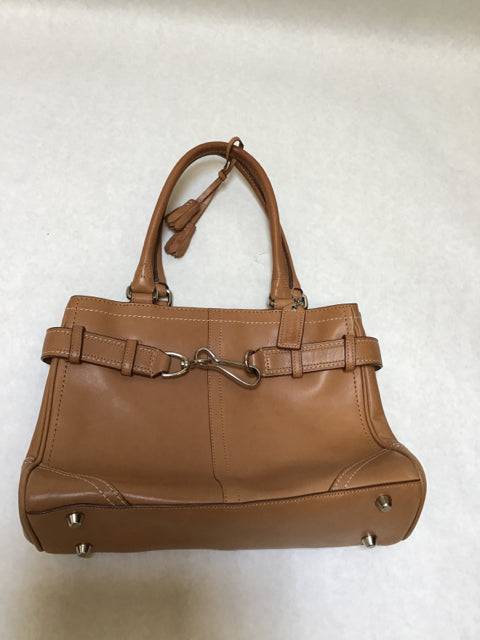Coach Size Medium tan Purse