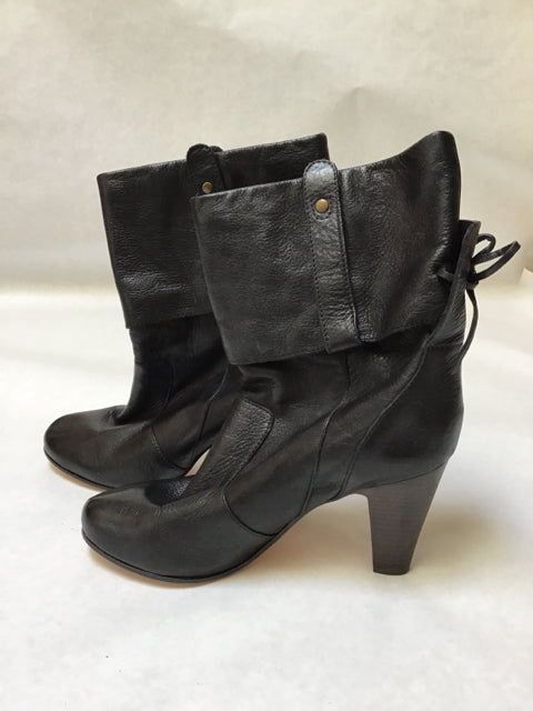 Dolce Vita Size 10 Black Shoebooties