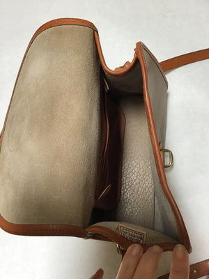 Dooney & Bourke Size Medium Brown Crossbody Purse
