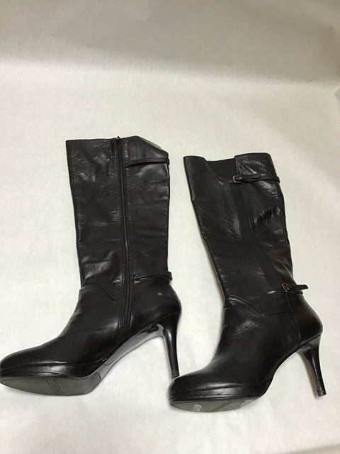 Nine West Size 10 Tall Black boots