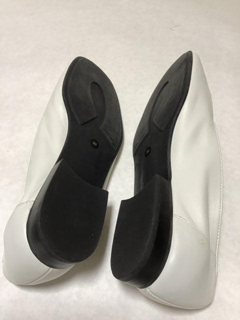 Nine West Size 9 Slip On off white Loafer Shoes Maisie
