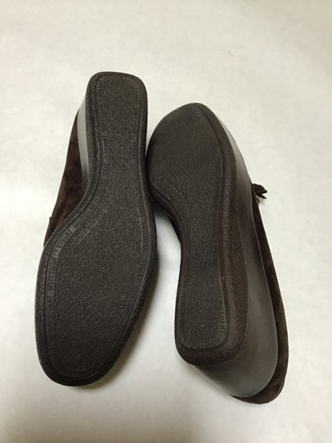 Stuart Weitzman New! Size 8 Brown Slip On Loafer Shoes