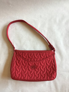 Vera Bradley Quilted Red Purse