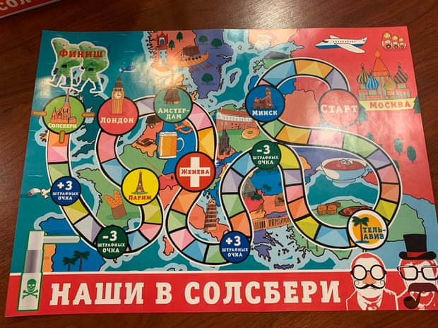 Salisbury Novichok attack board game on sale in Russia
