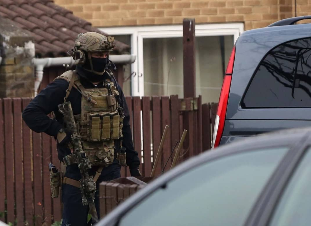 Special Forces On UK Streets (again)