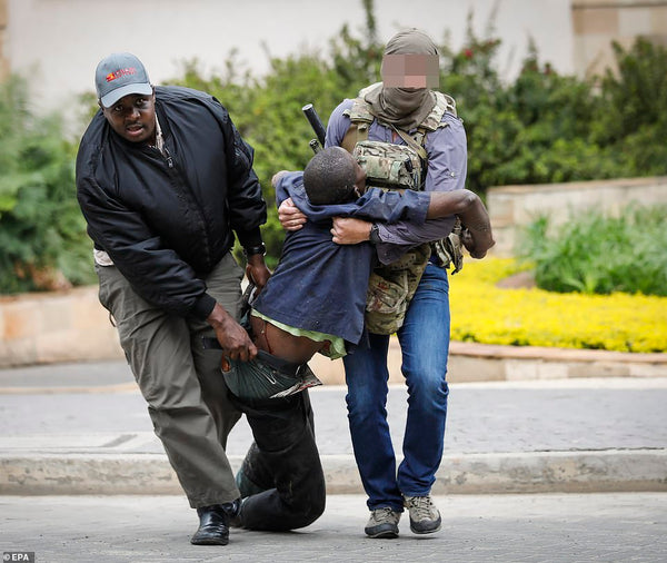 SAS Trooper rescues victims from Kenya Hotel