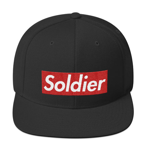 Embroidered Supreme Soldier Snapback OG