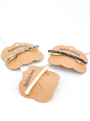 Chic Curved Tortoise Barrette