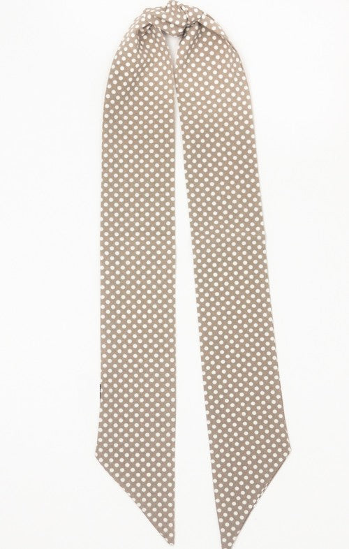 Mini Polka Dot Hair Scarf