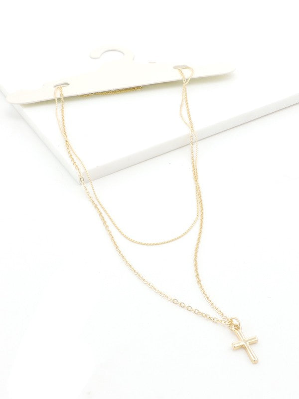 Believe Delicate Layered Necklace