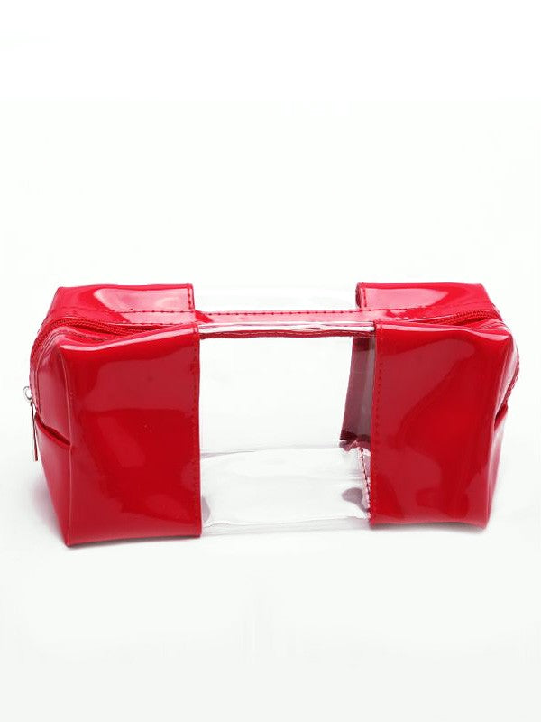 Claudia Clear Cosmetic Case