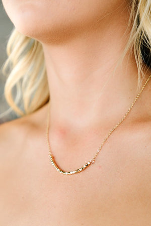 Metal Beads Delicate Necklace