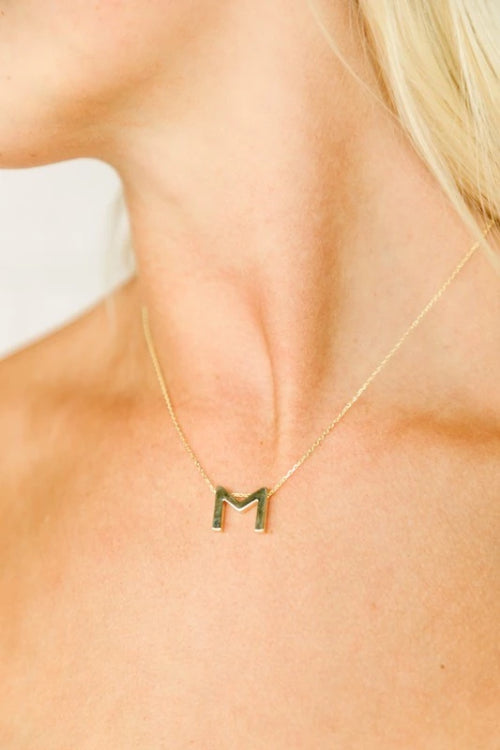 14K Gold Filled Gold Initial