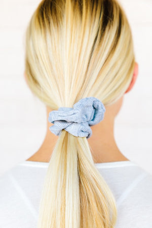 Ribbed Sweater Knit Scrunchie