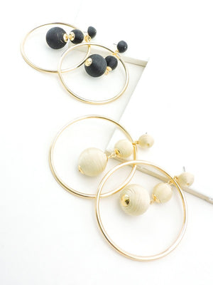 Eve Ball Drop Hoops