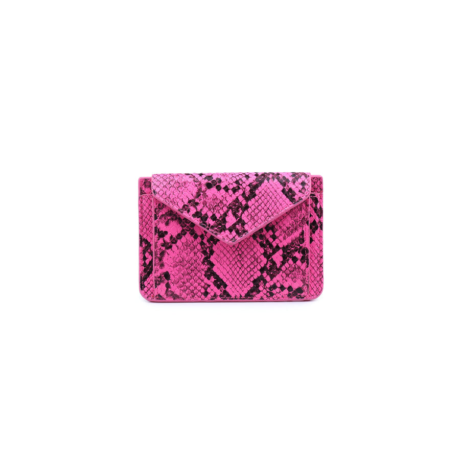 Everlee Pocket Wallet- Neon Pink