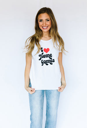 I Heart Home Games Tee