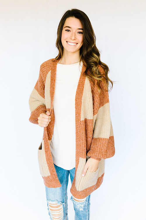 Coffee Time Cardigan