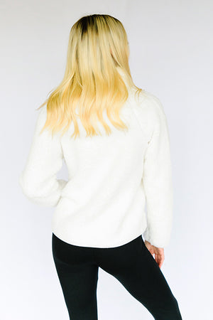 On A Cloud Fleece- Cream