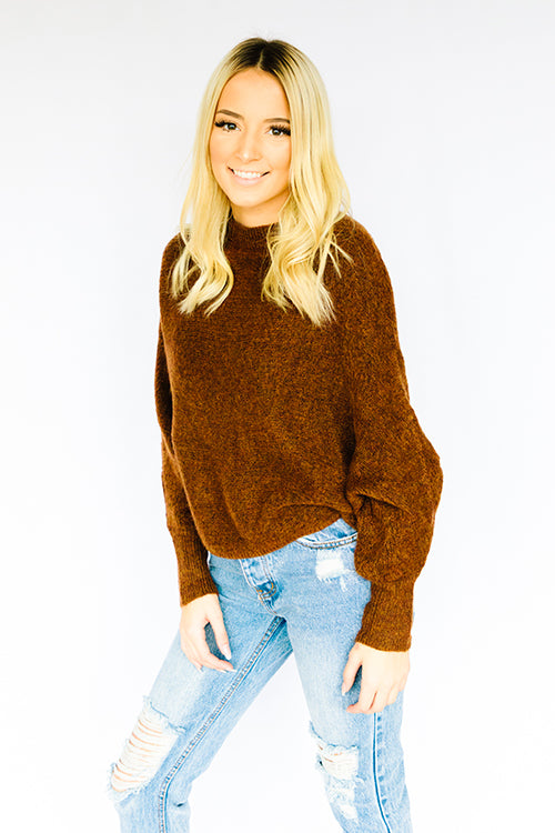 Chai Dolman Sleeve Sweater