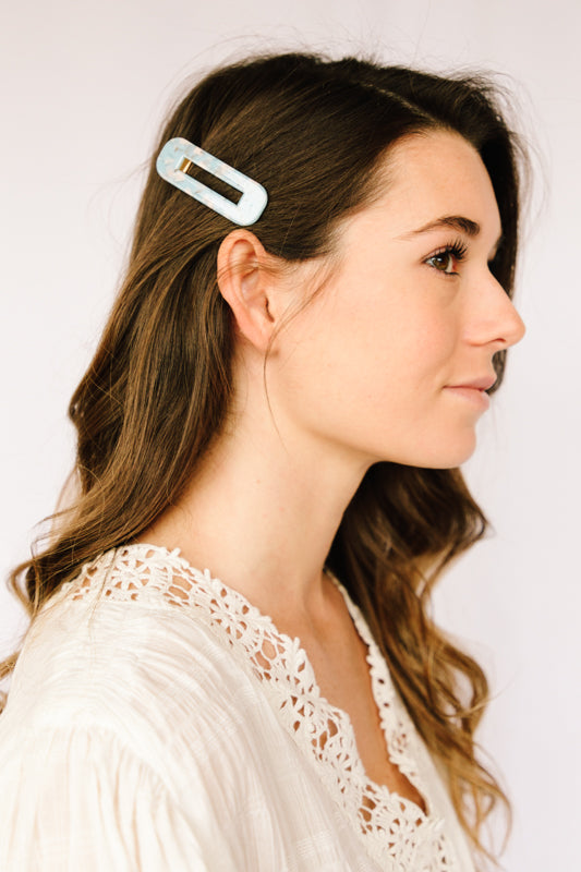 Rectangular Hair Clip