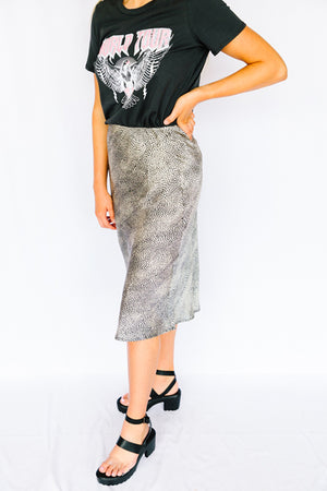 Queen of the Jungle Midi Skirt