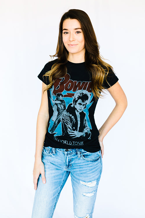 David Bowie Tour Tee