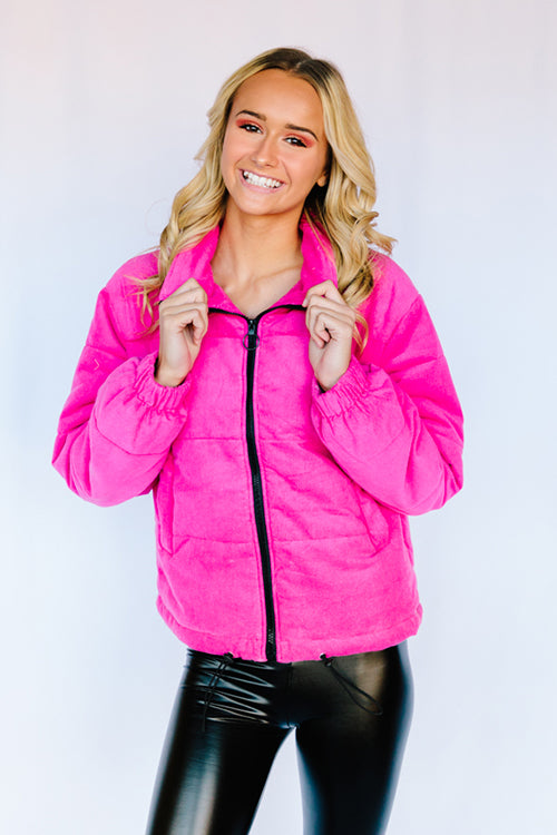 Barbie Girl Puffy Coat