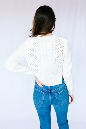 Kora Mixed Knit Sweater