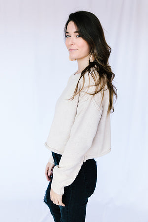 Abby Cropped Sweater