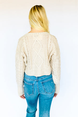 Honey + Oats Sweater