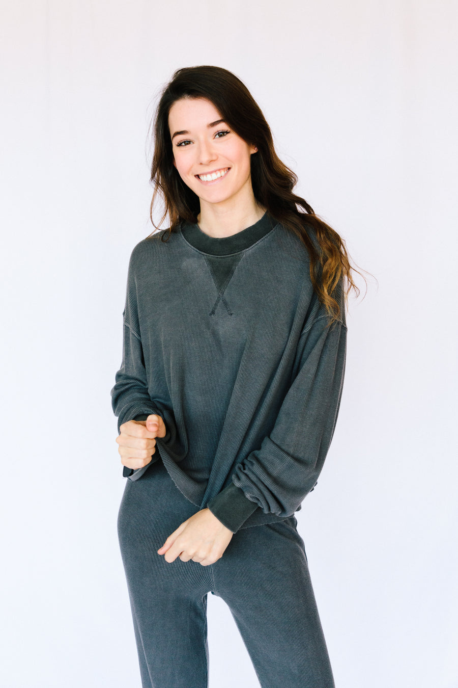 Charlie Knit Lounge Top