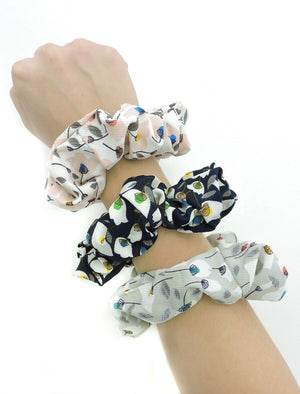 Spring Bouquet Scrunchie