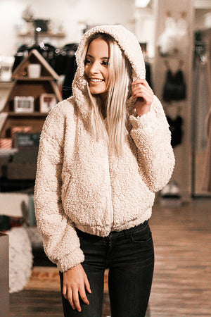 Meredith Hooded Teddy